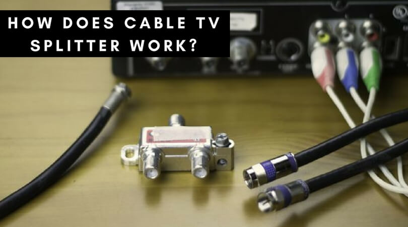 How does a cable TV splitter work_