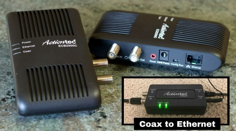 Coaxial To Ethernet Adapter For Sale Top Converter Kits