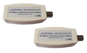 Dualcomm Ethernet over Coax