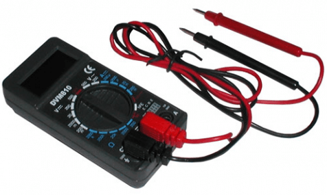 test coax cable with a multimeter
