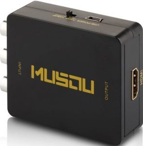 RCA to HDMI, Musou Composite RCA to HDMI Converter