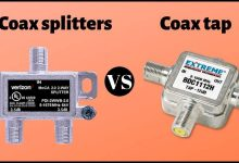 Coax splitter vs Tap