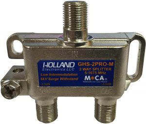 2-Way MoCA Splitter – Holland Electronics
