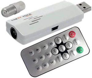 Universal Analog USB-Based TV Tuner