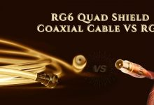 RG6 Quad Shield Coaxial Cable VS RG6
