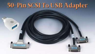 50-Pin SCSI To USB Adapter