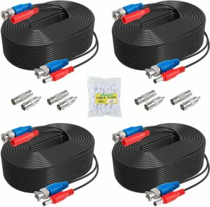 ANNKE 100 feet Cables – BNC Extension