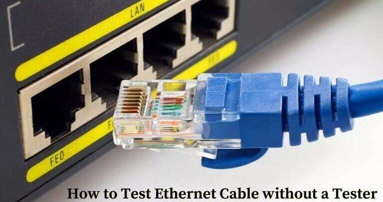 How to Test Ethernet cable without a tester (1)